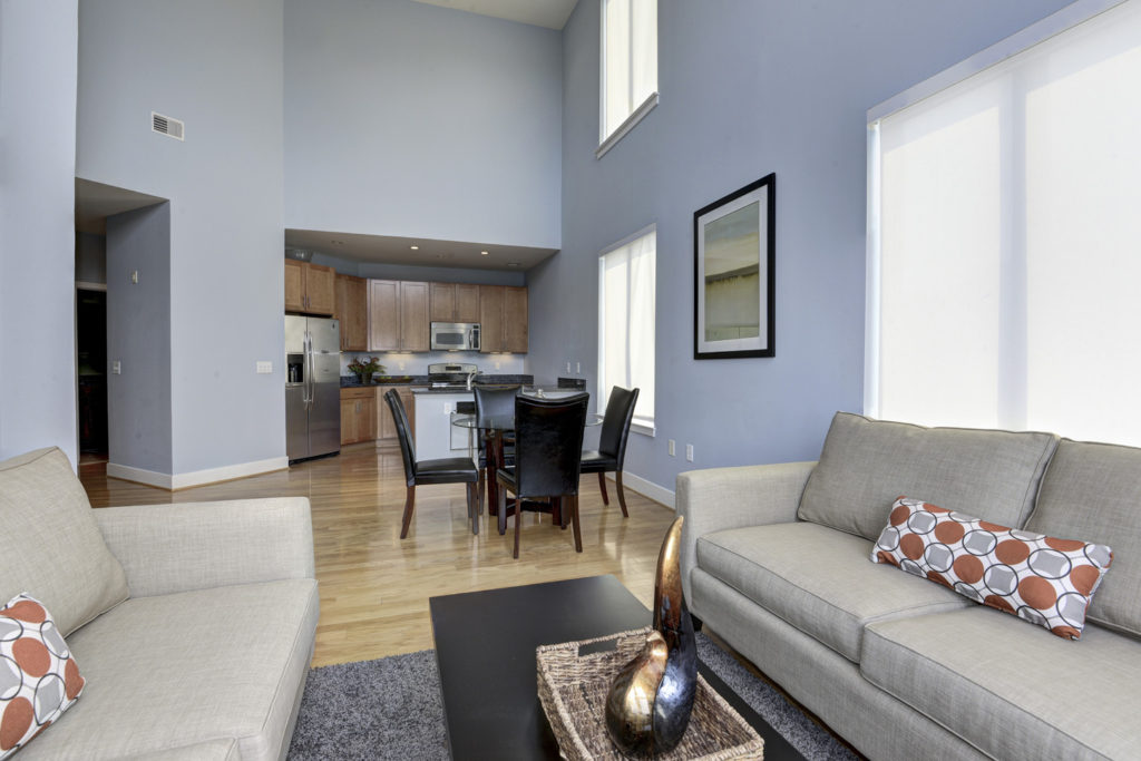 1800 Wilson Blvd Living and Dining
