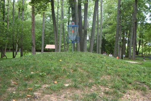 Bluemont Park frolf