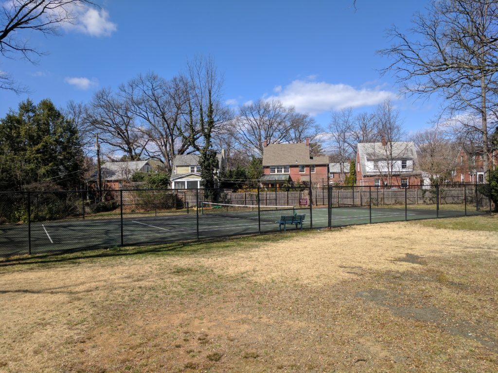 ashton heights tennis court
