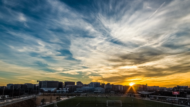 crystal city sunset